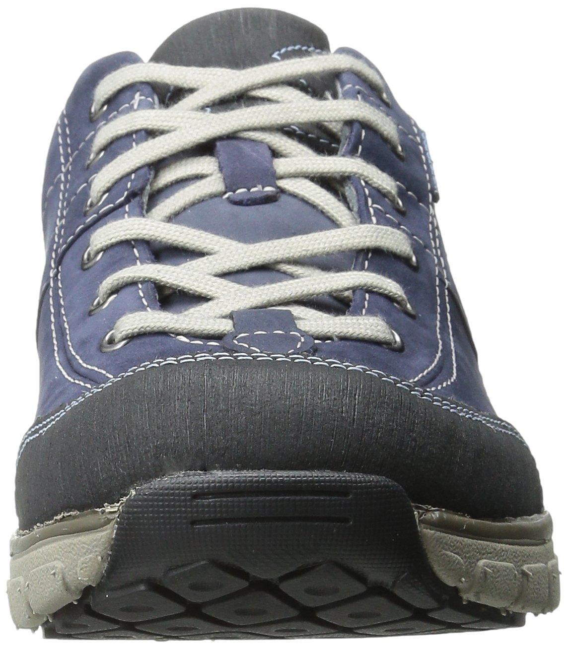 CLARKS Women's Wave Trek Sneaker. B0072GDONU 6.5 B(M) US Navy Nubuck