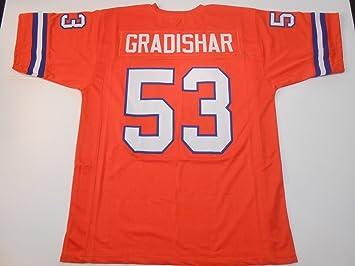 Denver Broncos Randy Gradishar UNSIGNED CUSTOM Made Orange Jersey EVf9vt5L
