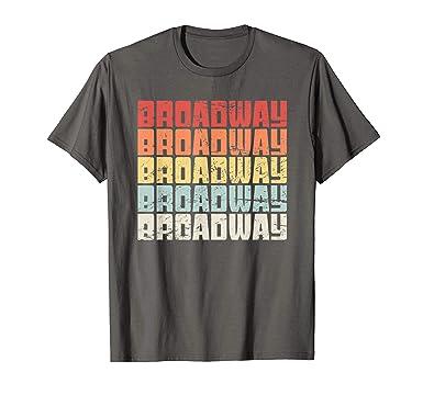 fa0c01fbcb5 Amazon.com: Retro BROADWAY | Musical Theater T-Shirt: Clothing