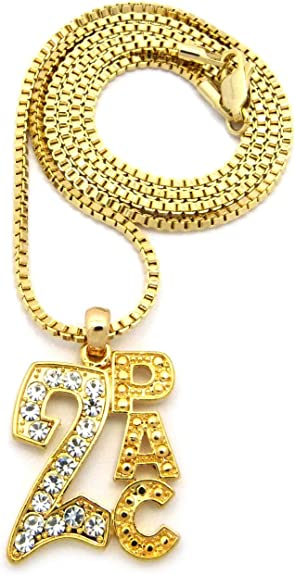 "Hip Hop Iced Out Number 0,1,2,3,4,5,6,7,8,9 Pendant 2mm 24/"" Box Chain Necklace"