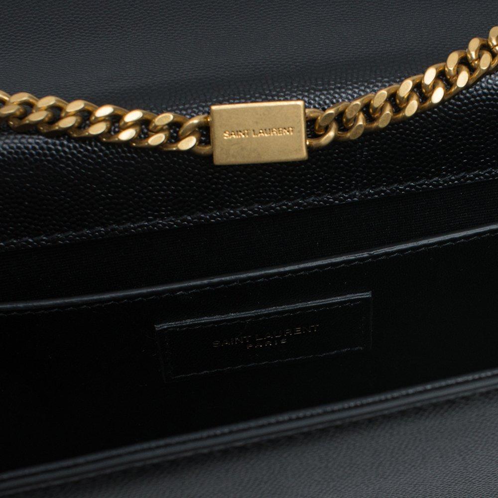 10f5b9948c7d Yves Saint Laurent Kate Black Shoulder Bag Classic New  Handbags  Amazon.com