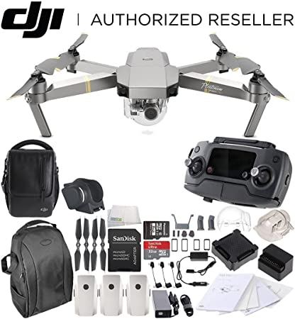 fbb971be0e5 DJI Mavic Pro Platinum Fly More Combo Collapsible Quadcopter Drone Backpack  Bundle Special