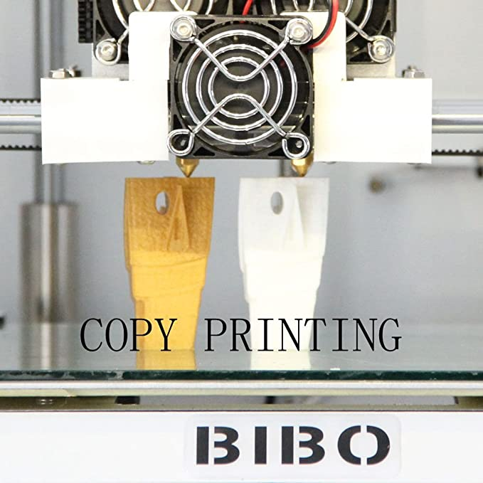 BIBO 2 3D Printer Engraving Sturdy Frame Dual Extruders WIFI Touch ...