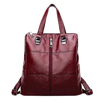 Mochilas Casual de Viaje de Tela Oxford de Personalidad de Moda Bolsa Antirrobo Paquete de Viaje y Ocio para Mujeres y Chicas Diario Messenger Bag Backpack ...
