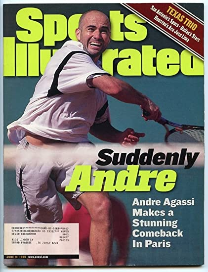 SI: Sports Illustrated June 14, 1999 Suddenly Andre: Andre Agassi, Tennis, VG at Amazons Sports Collectibles Store