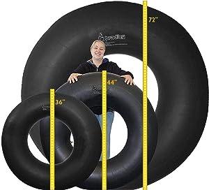 Bradley Heavy Duty Rubber Snow Tube   River Tube, Sledding Float   Pool Closing Inner Tube   Truck Inner Tubes