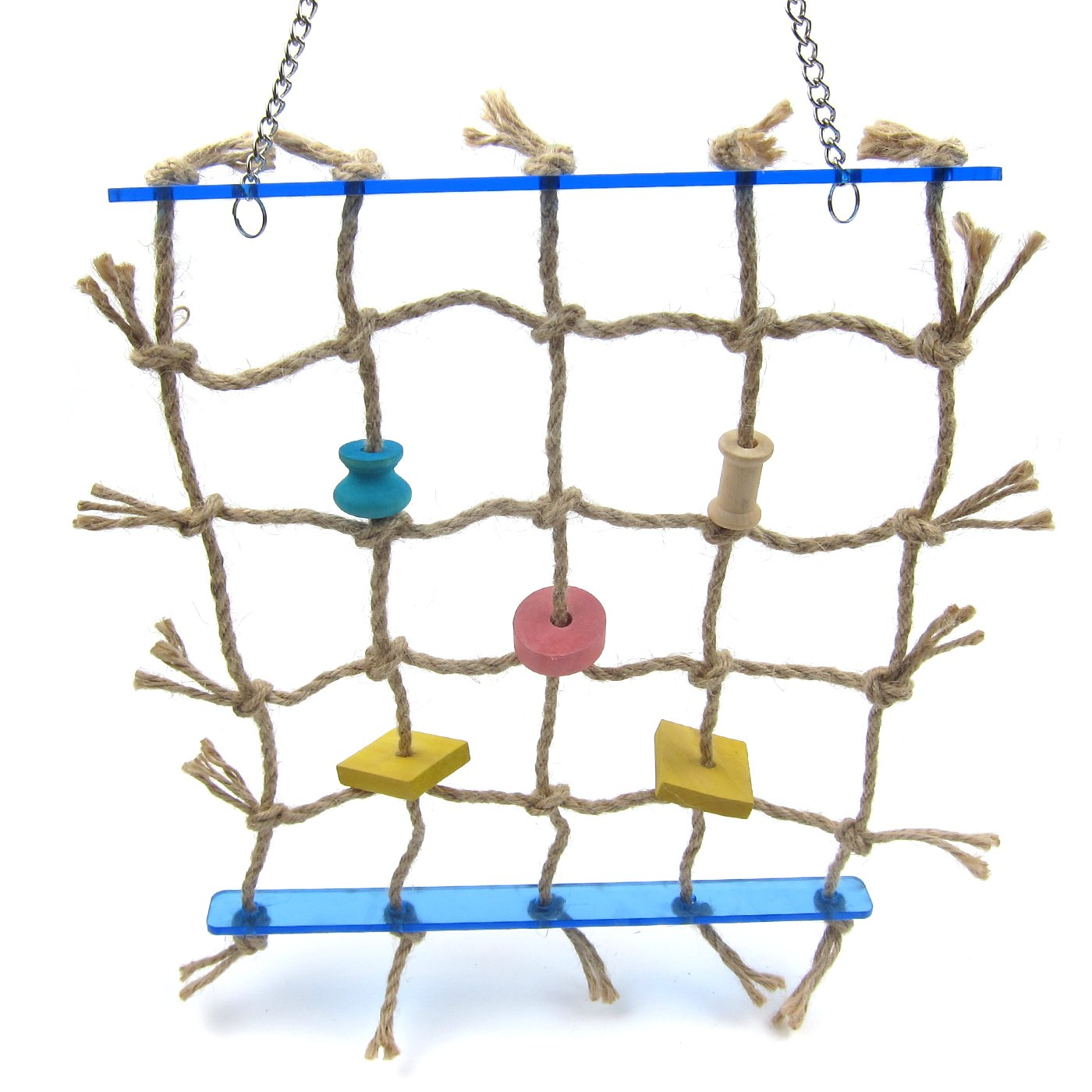 Alfie Pet by Petoga Couture - Kaelin Hanging Rope Ladder Toy for Birds by Alfie (Image #1)