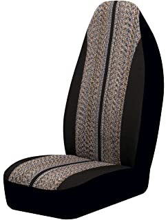 Auto Expressions 804309 Black Saddle Blanket Universal Bucket Seat Cover