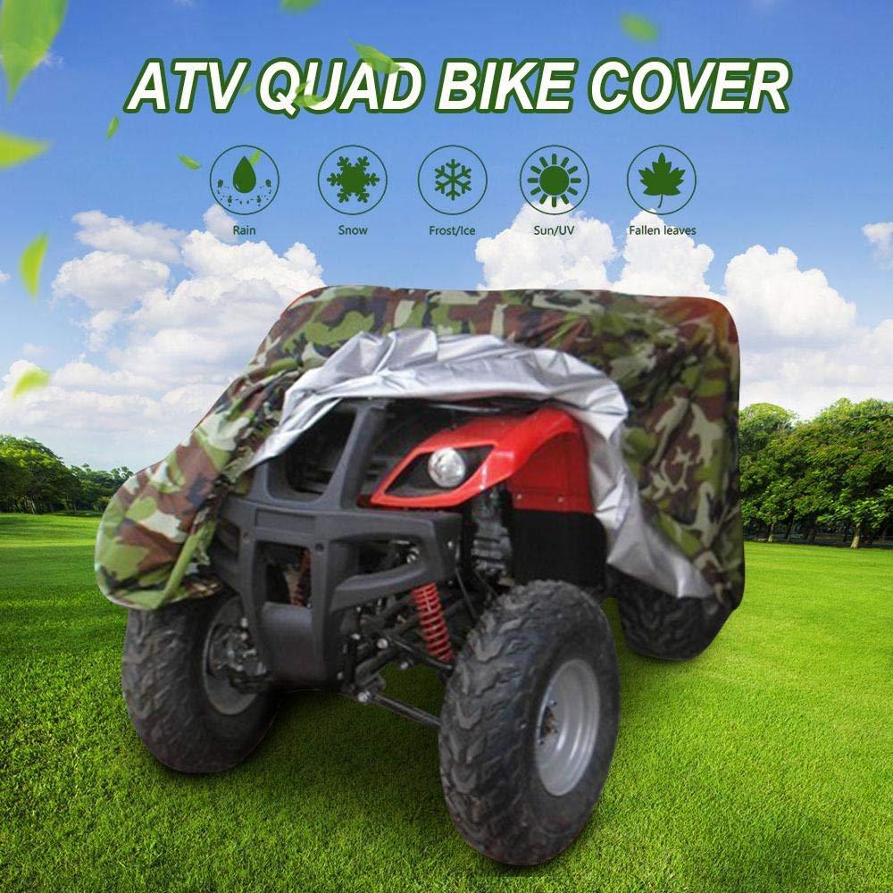 SUNDUXY Funda para ATV Moto Camuflaje Cubierta Funda para Quad de ...