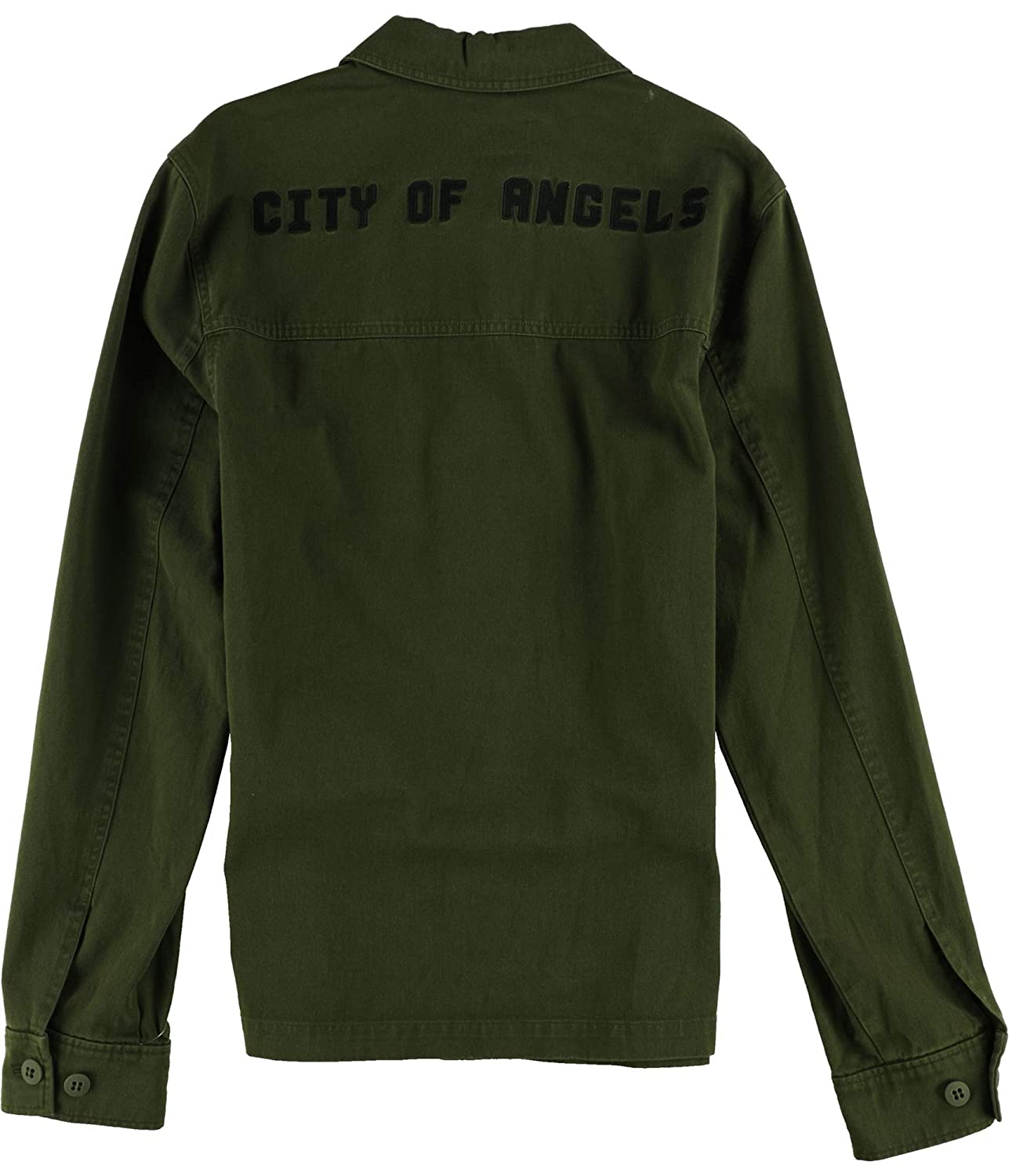 PAIGE Mens Dalton City of Angels Shirt Jacket