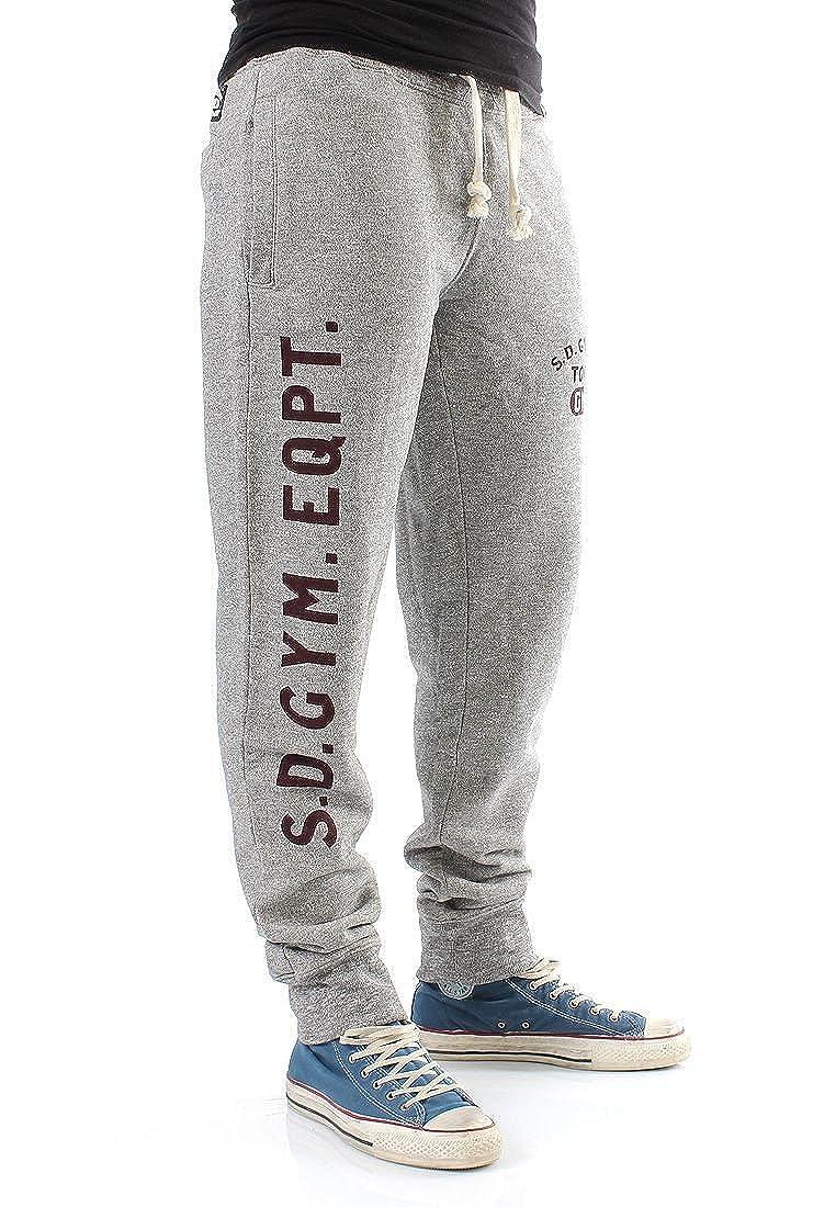 Superdry Pantalones Men - Pommel Sweat Pant - Vault Grey gris ...