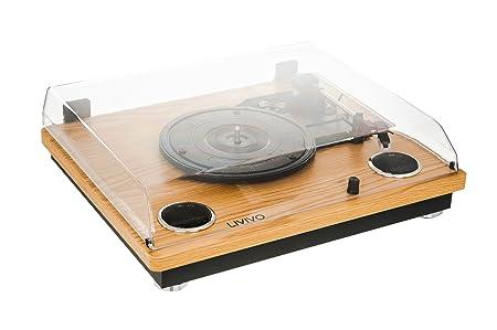 Amazon.com: E Bargains UK de madera LP tocadiscos con ...