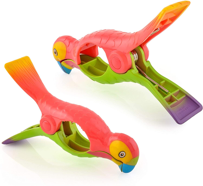 O2COOL BocaClip-Parrot Clip, 1-Pack
