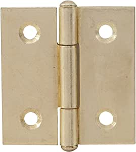 310172 2/unidades secotec bot/ón bisagras recta 30/x 30/mm Acero Lat/ón SB de 2/BL1