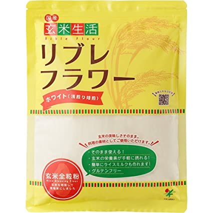 d456b820d9c1 Amazon | リブレフラワー 玄米生活ホワイト 500g 10袋セット | リブレ ...