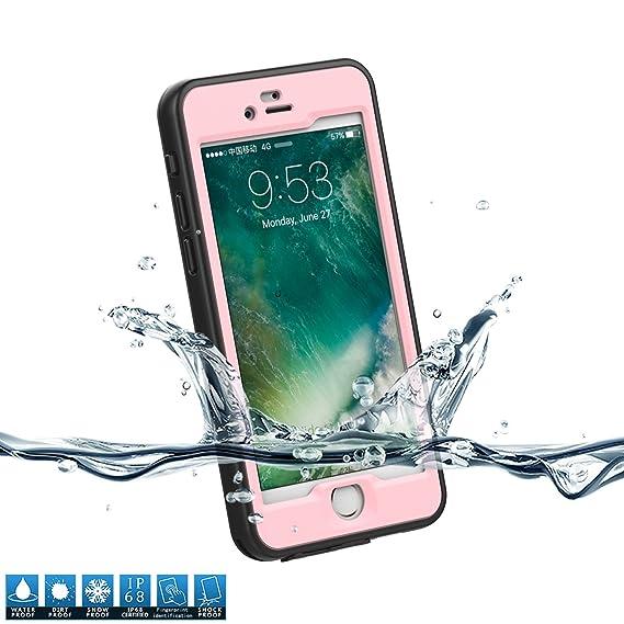 premium selection 77021 584ef Amazon.com: iPhone 7 / iPhone 8 Waterproof Case, BasicStock Outdoor ...