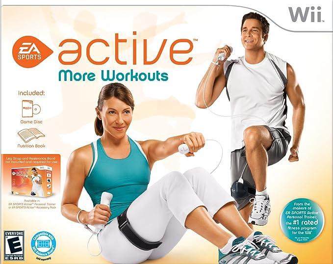 EA Sports Active: More Workouts - Nintendo Wii: Amazon.es ...