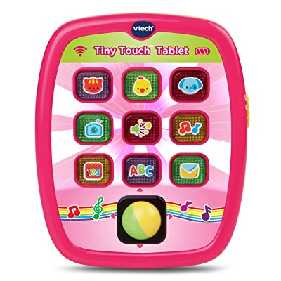 VTech Tiny Touch Tablet, Pink: Toys & Games