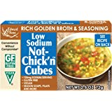 Edward & Sons Not-Chick'n Bouillon Cubes, LOW SODIUM, 2.5 Ounce (Pack of 12)