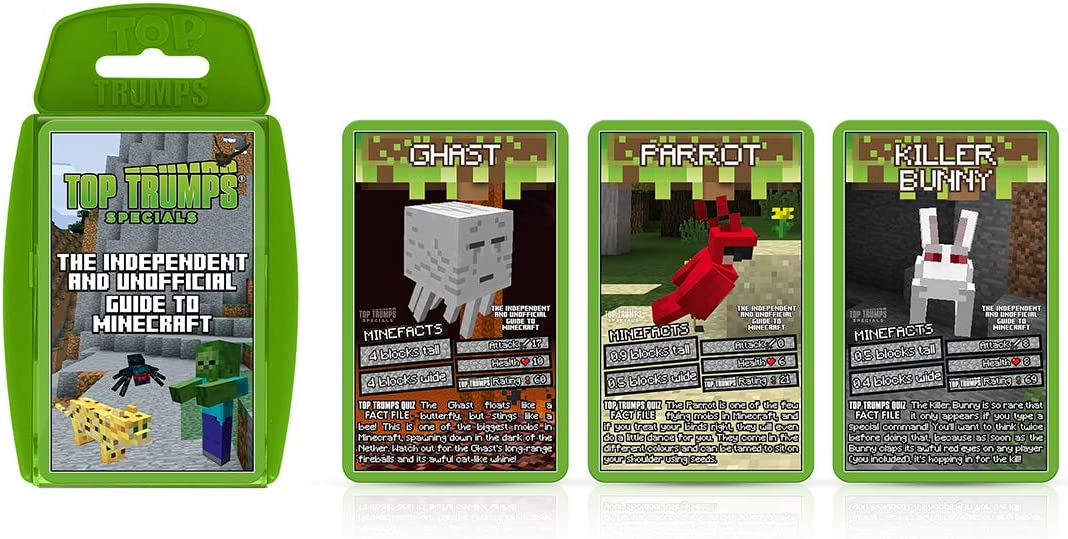 WM01279-EN1-6 Independent /& Unofficial Guide To Minecraft Top Trumps Specials Card Game