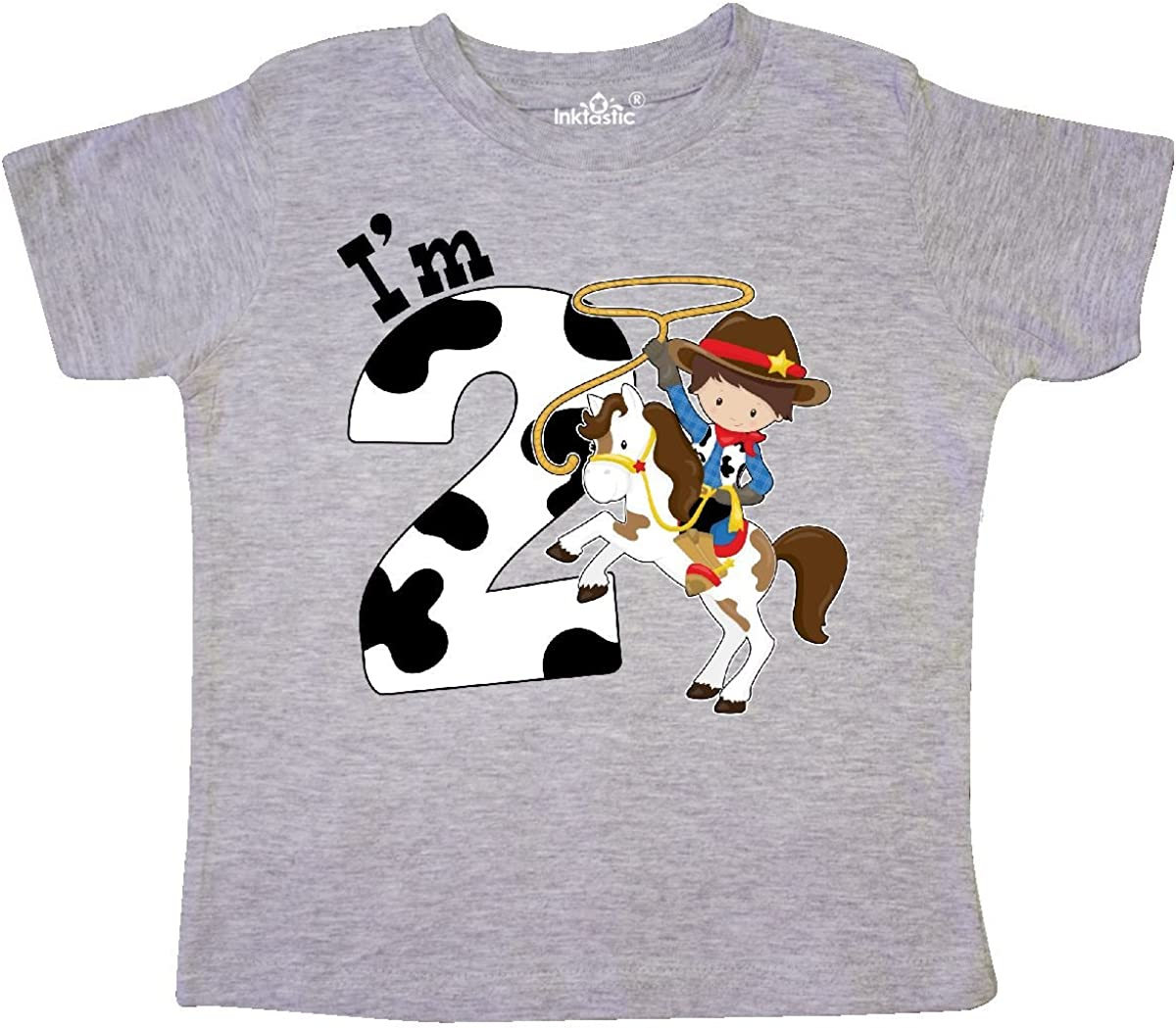 inktastic Cowgirl Little Sister Toddler T-Shirt