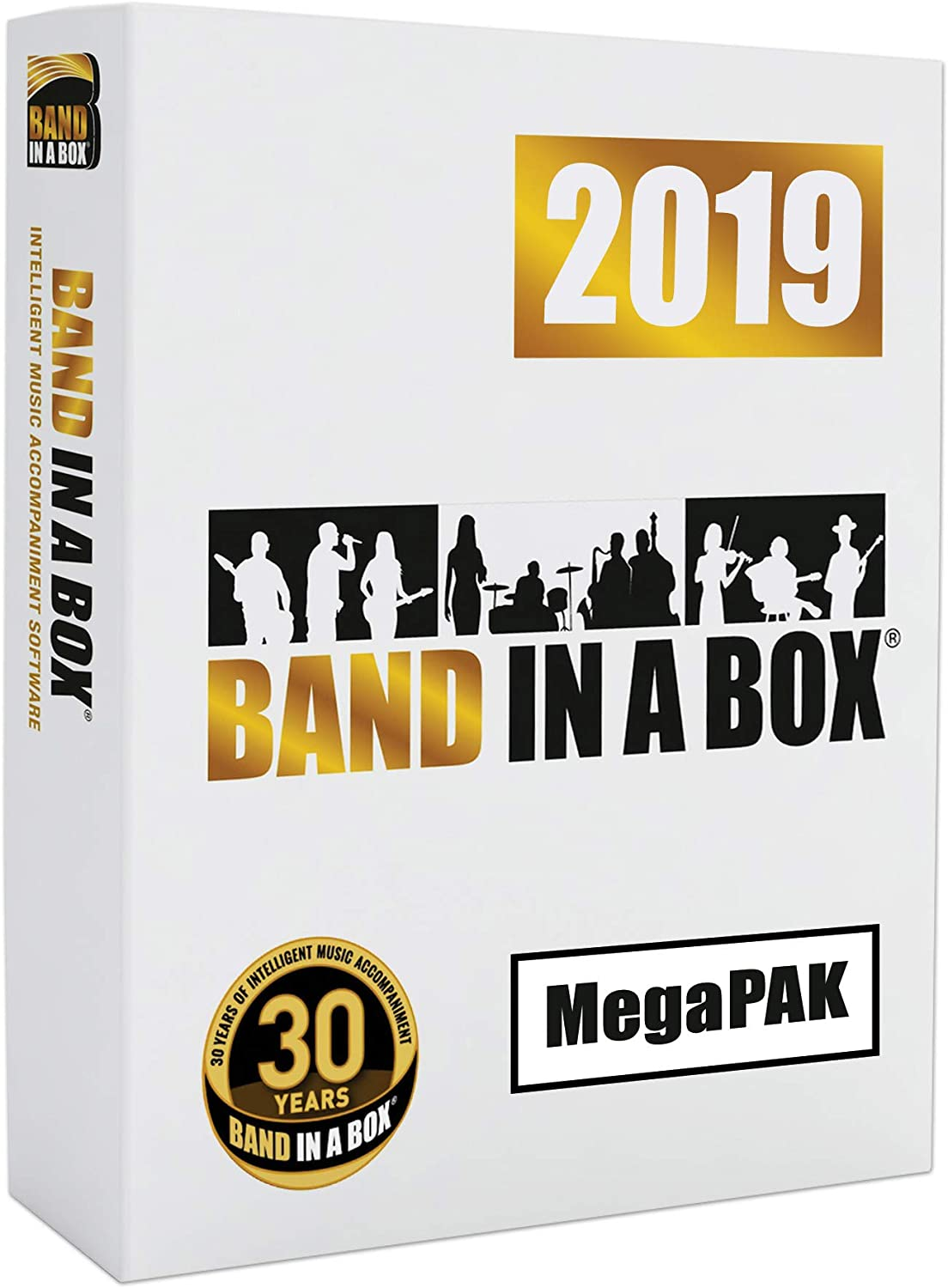 PG Music Band in a Box MegaPak 2019 PC Windows Mega Pack Music Software