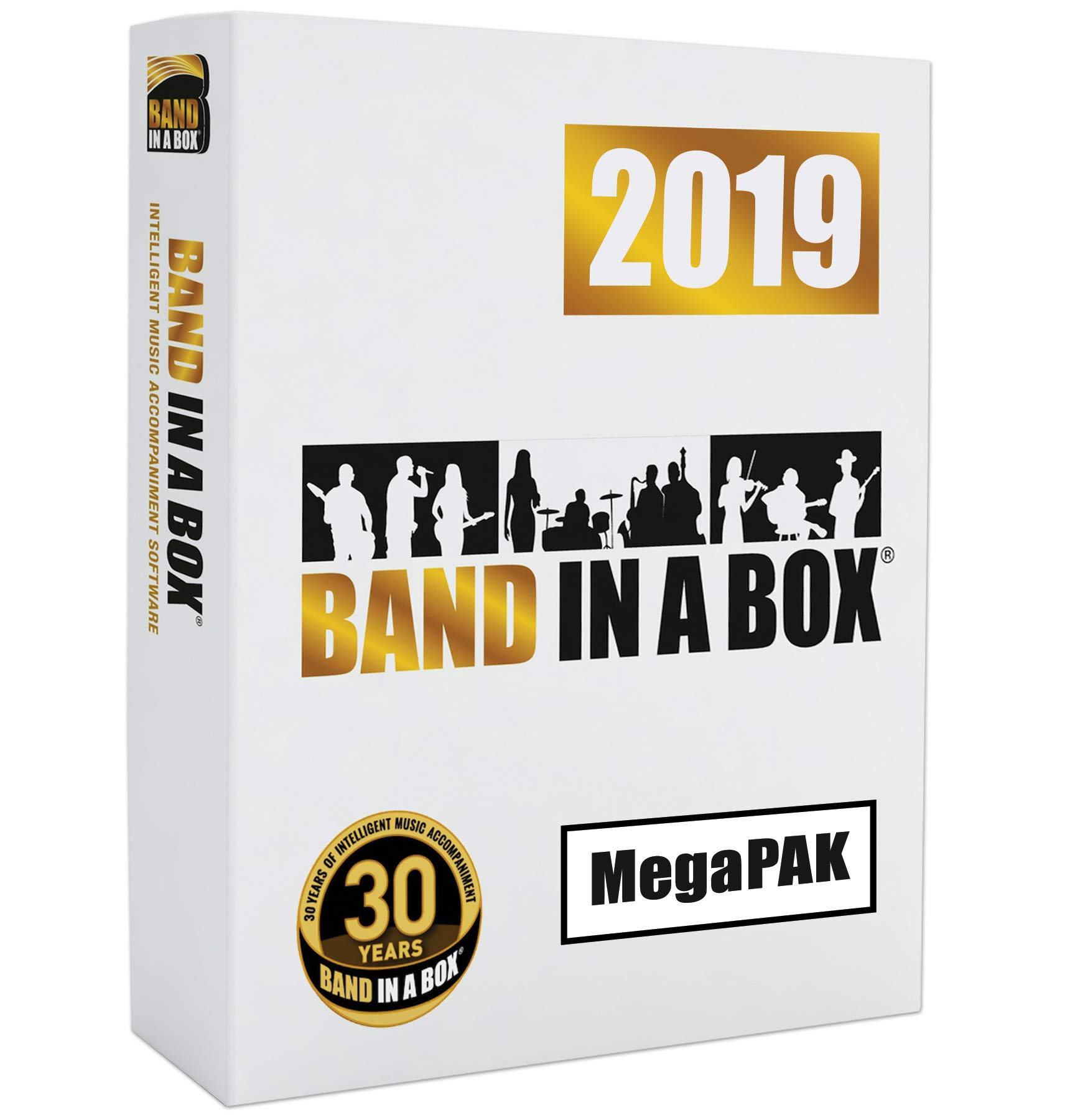Band-in-a-Box 2019 MegaPAK [Windows USB Flash Drive] - Create your own backing tracks by PG Music Inc.