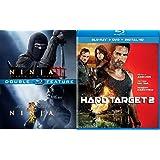 Amazon.com: Ninja 1 & 2 Double Feature (Blu-Ray): Scott ...