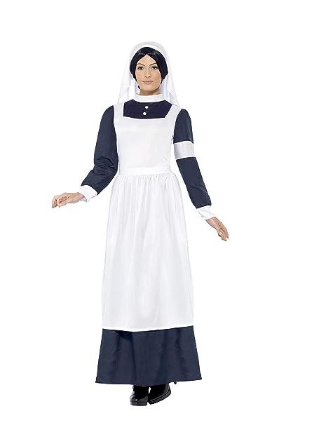 Amazon.com: Smiffy s – Disfraz de enfermera para mujer gran ...