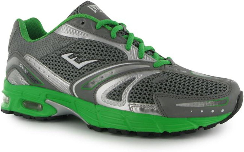 Everlast - Zapatillas de Running para Hombre Grey/Green 41.5 (8 UK): Amazon.es: Zapatos y complementos
