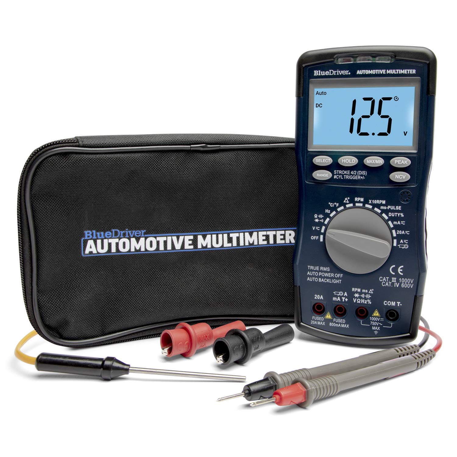 BlueDriver Automotive Multimeter (Auto Ranging)