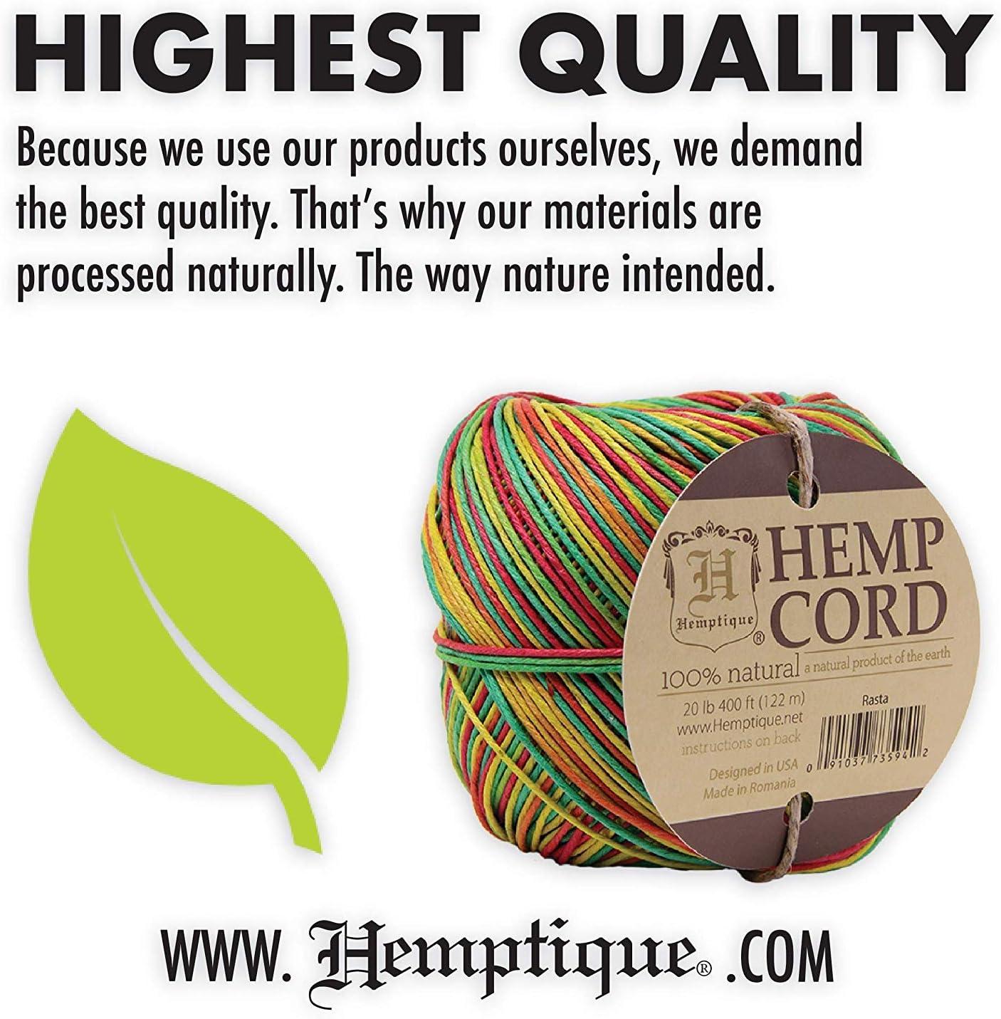 Hemp Cord 20lb 120-Earthy