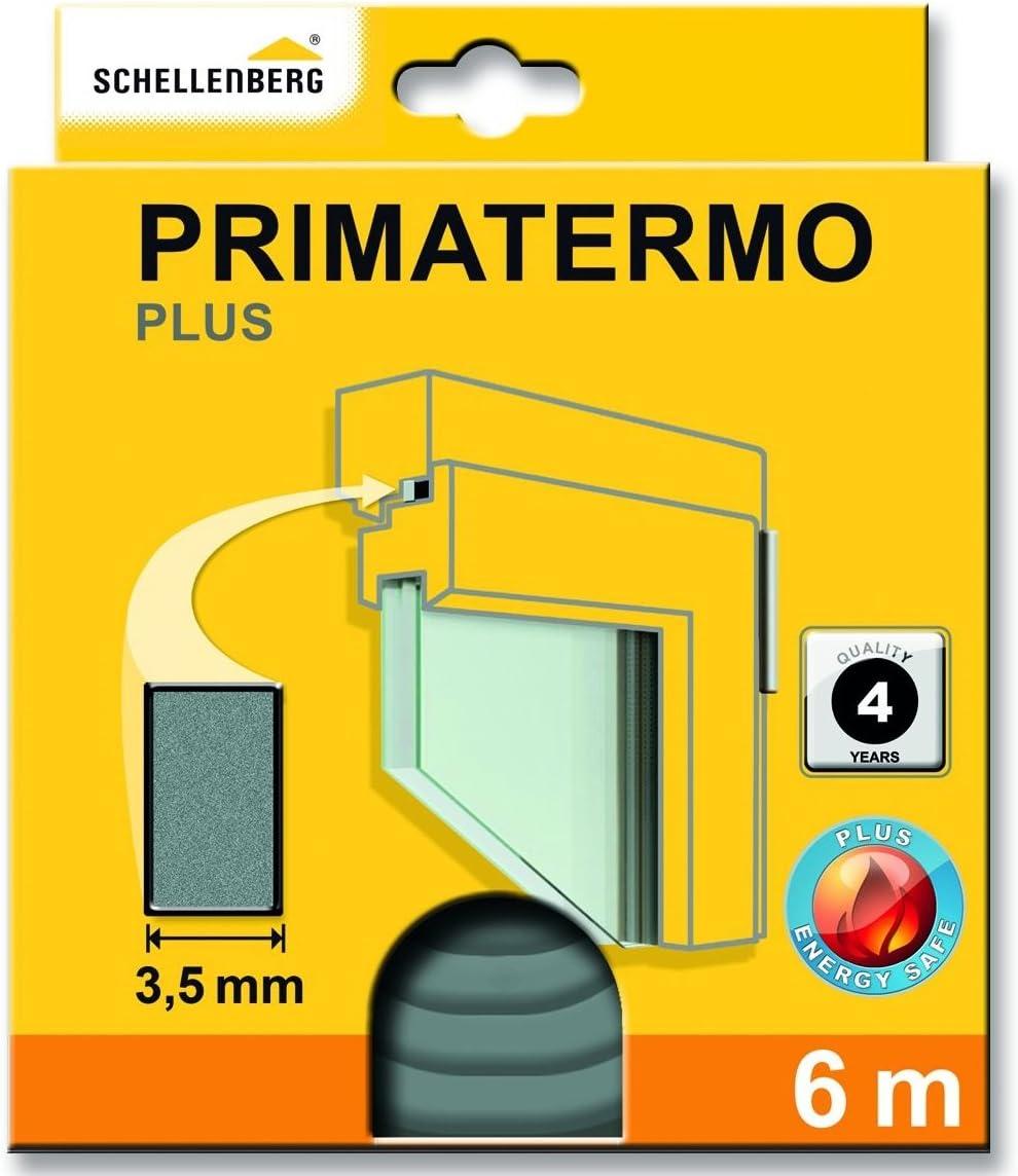 Fensterdichtung 9 x 4 mm 6 m Schellenberg 66323 Primatermo Dichtung Plus T/ürdichtung