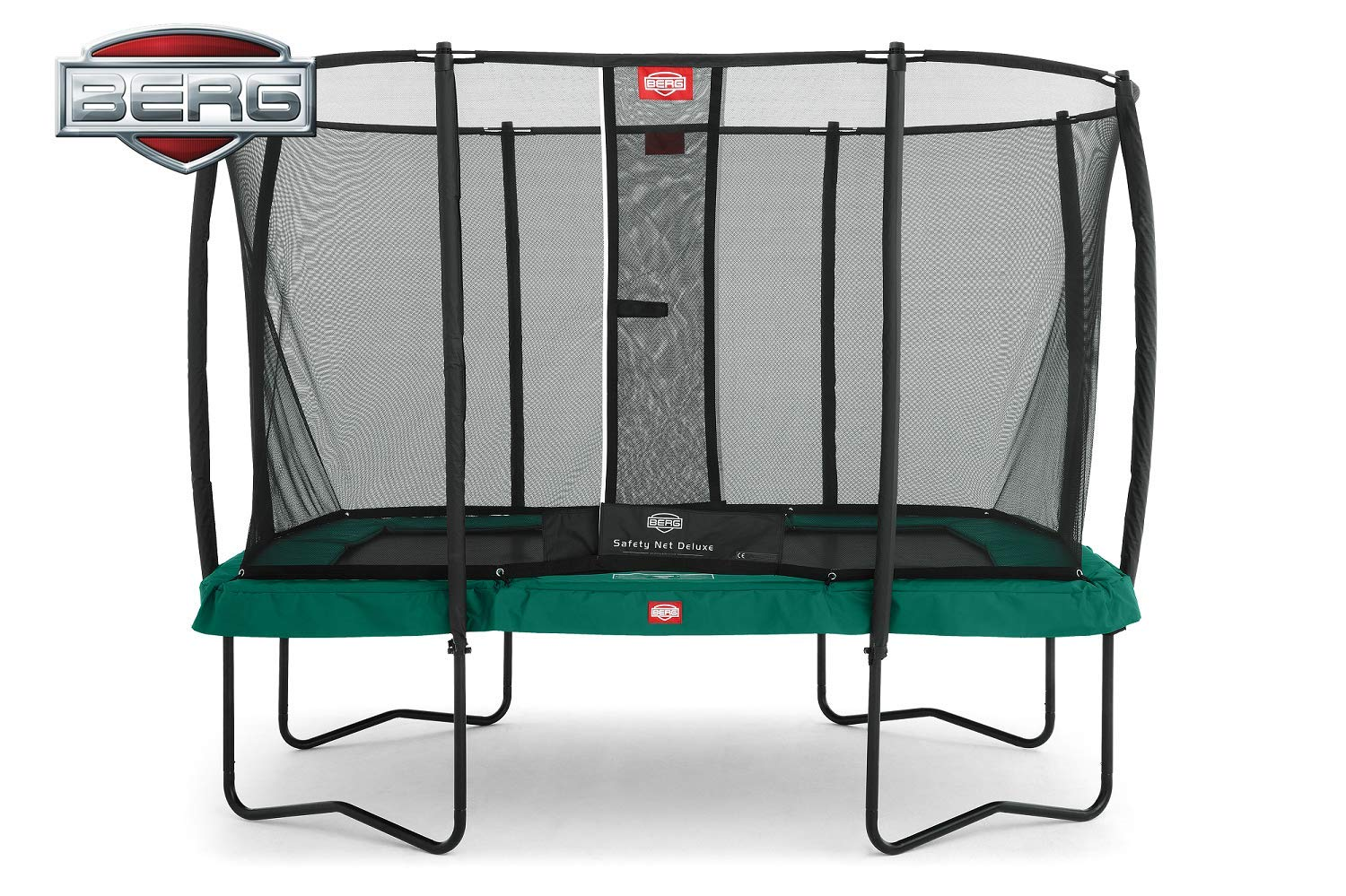 BERG Eazyfit Regular Trampoline + Safety Net Deluxe Rectangular ...