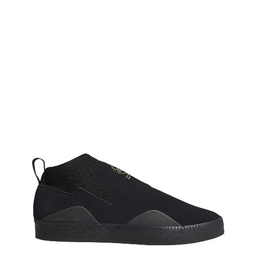 size 40 4e535 329e9 Adidas 3St.002, Zapatillas de Skateboarding para Hombre, Negro Negbás 000,  45 13 EU Amazon.es Zapatos y complementos