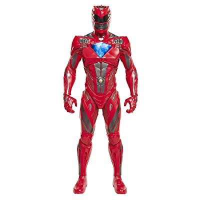 Saban's Power Rangers Movie Red Ranger Action Figure 12 Inches: Toys & Games