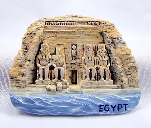 Souvenir de el gran templo de Egipto ABU SIMBEL cierre magnético ...
