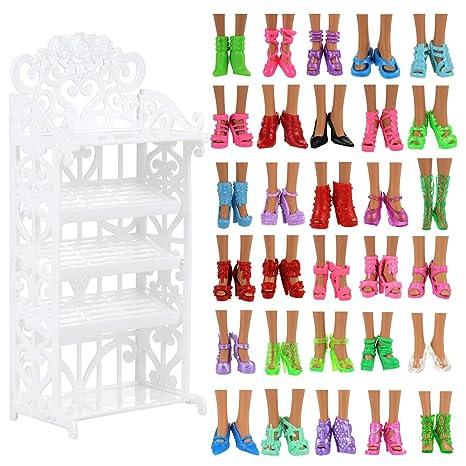 Villavivi Abiti Vestiti Ed Accessori Per La Festa Per Barbie Dolls Bambola  Per Regalo 2018 Stili 11b0b459dbe