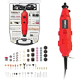YIYITOOLS Rotary Tool Power Rotary Tool – With 234 Accessories, 1A, 6 Step Variable Speed, Orange and Black (S1J-FE3-10)