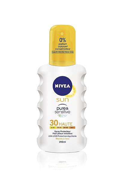 NIVEA SUN pure&sensitive SPF30 spray 200 ml