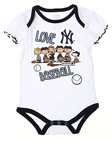 Amazon.com: MLB New York Yankees Baby las niñas bebés ...