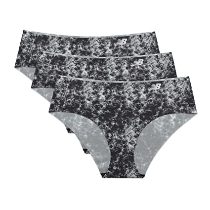 797140c3be Amazon.com  New Balance Womens Laser Hipster Panty 3-Pack  Sports ...