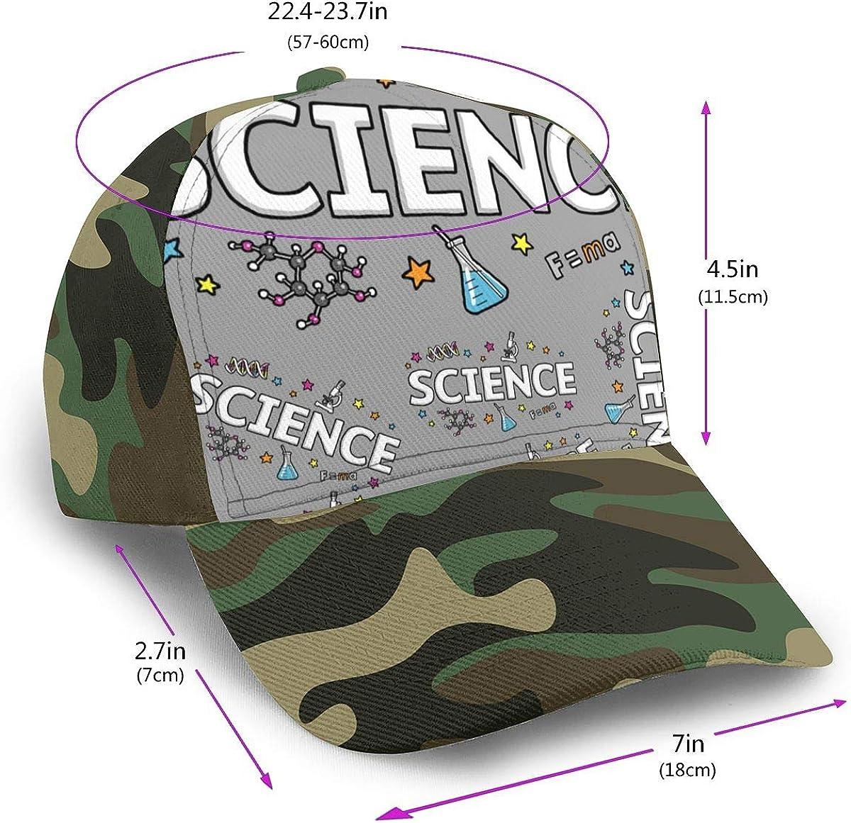 Classic Comfortable Fantasy Science Adjustable Baseball Cap