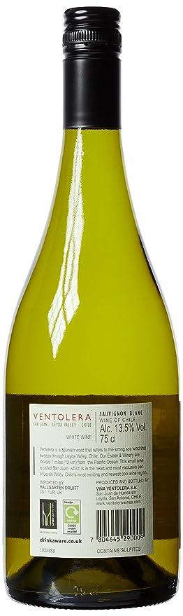 Ventolera Sauvignon Blanc Vina Leyda Valley 2011 Wine 75 cl