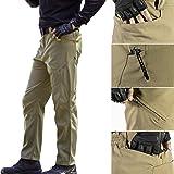 FREE SOLDIER Men's Tactical Pants Scratch-Resistant Multi-Pockets Duty Work Pants Breathable Lightweight Pants
