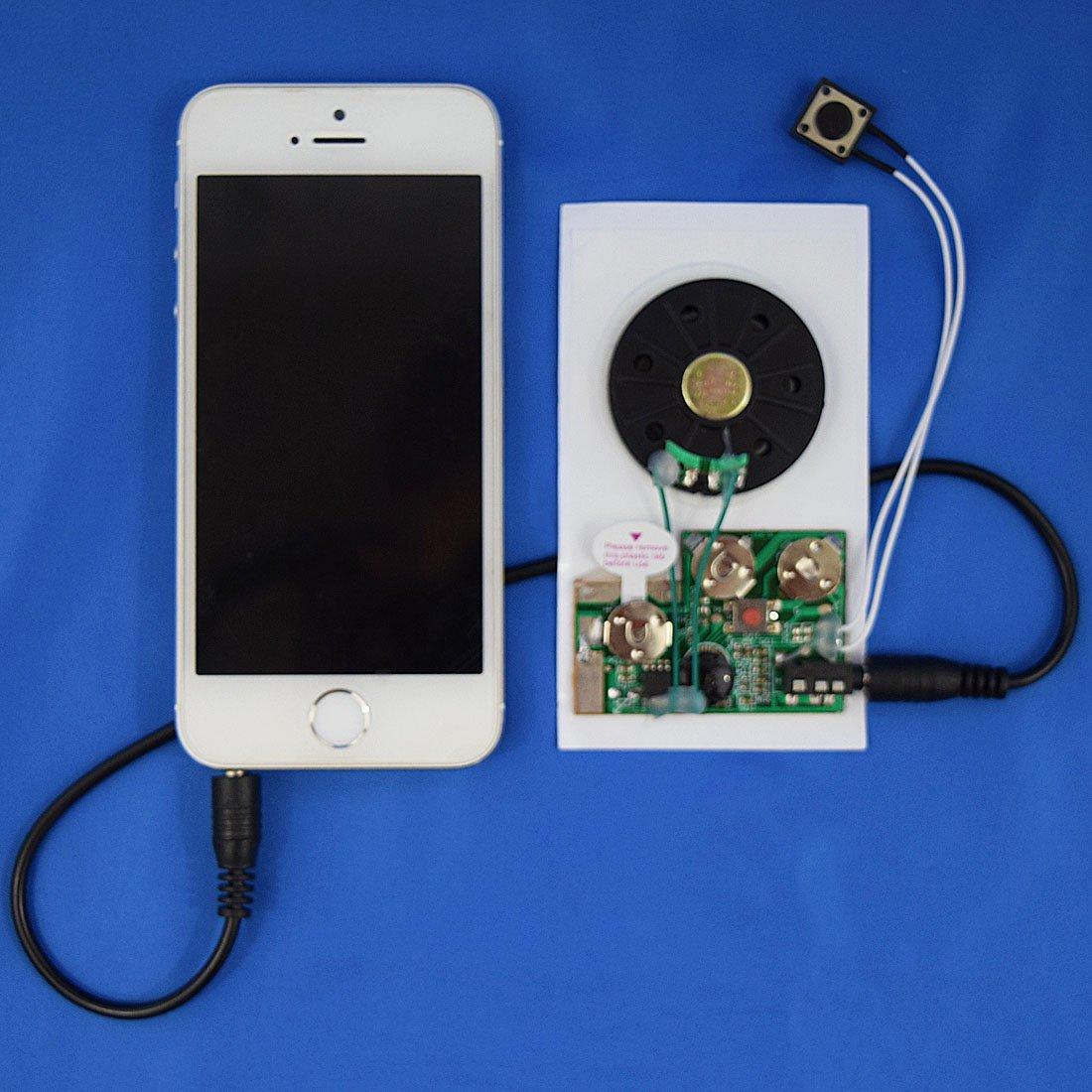 104 seconds RE-Recordable PUSH BUTTON Sound Module//Chip