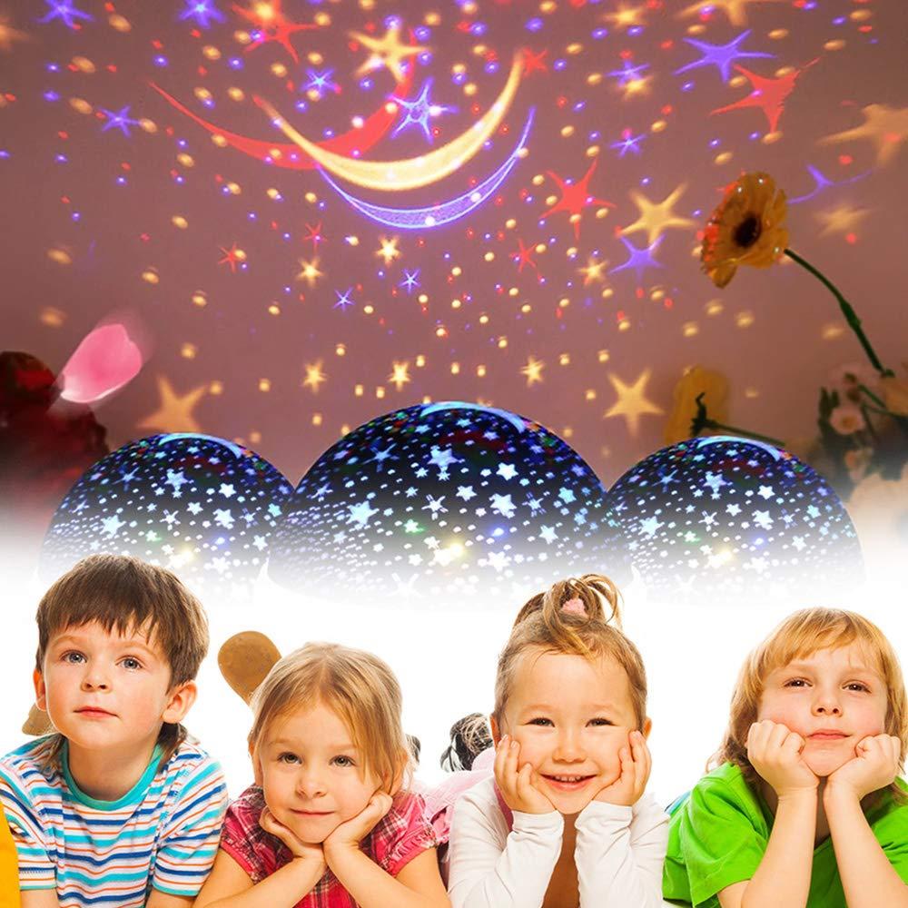 Friday L/ámpara de Iluminaci/ón Nocturna para Ni/ños de 2-6 A/ños Juguetes para Regalos para Ni/ños de 2-10 A/ños Juguetes para Ni/ñas de Edad 3-10 Purpl Juguetes para Ni/ños de 6-10 A/ños Ni/ñas