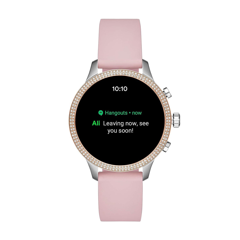 Michael Kors Reloj Mujer de Digital con Correa en Silicona MKT5055 ...