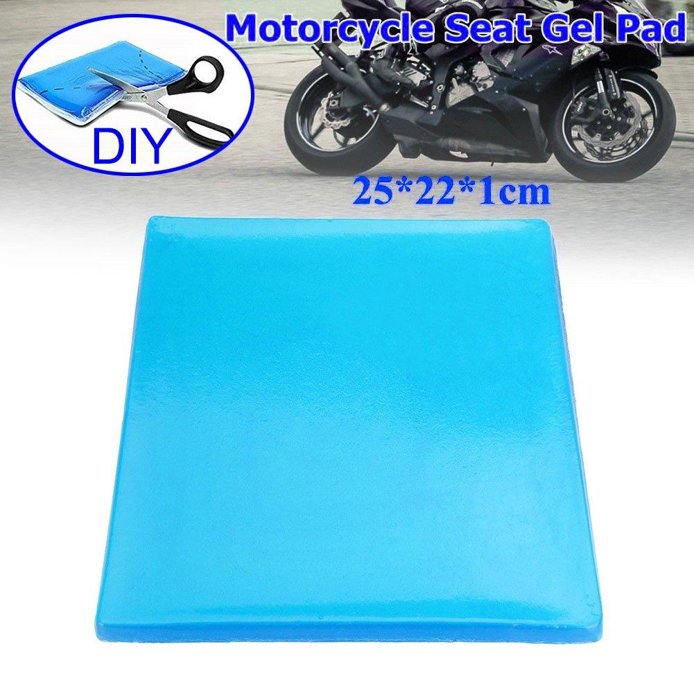 Almohadilla de gel cómoda de Alftek, para asiento de moto