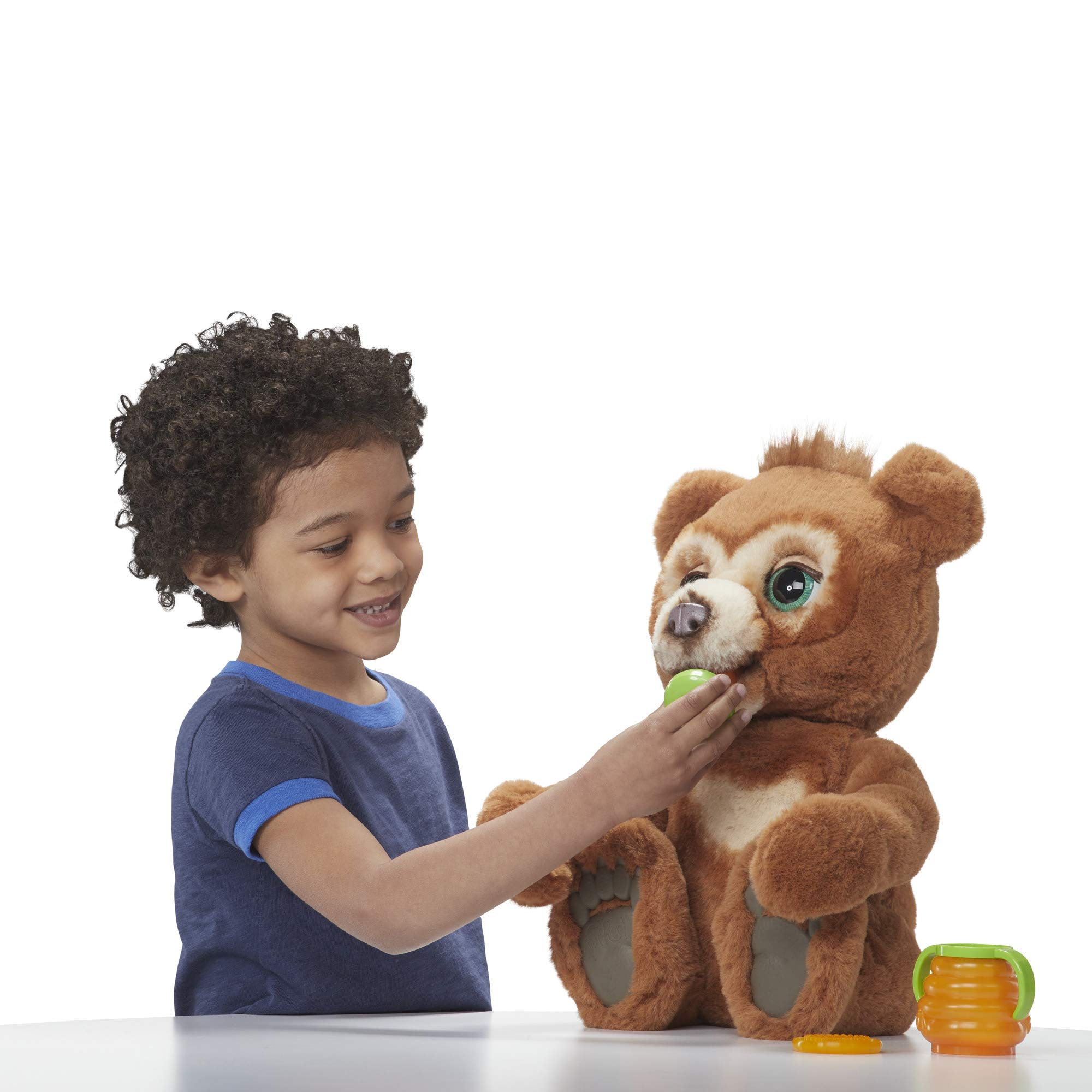 FurReal Cubby, The Curious Bear Interactive Plush Toy, Ages 4 and Up by FurReal (Image #5)